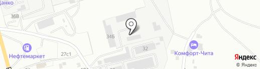 Форвард на карте Читы