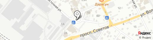 Магазин №66 на карте Читы