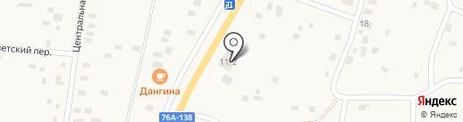 Наш на карте Угдана