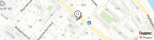 Автобак$ на карте Читы