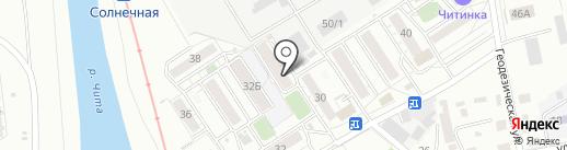 Почтовое отделение №45 на карте Читы