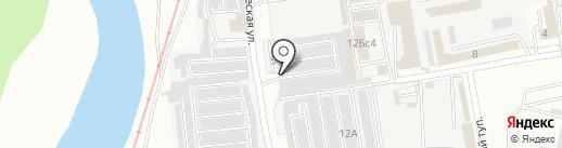 Забайкалец на карте Читы