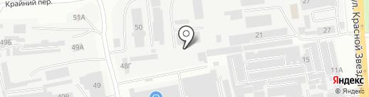 МетрВКубе на карте Читы
