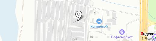 Сигма-Авто на карте Читы