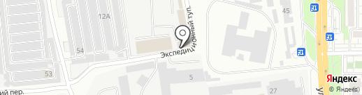 Служба аварийного вызова на карте Читы