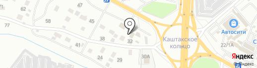 Фортуна-Сервис на карте Читы