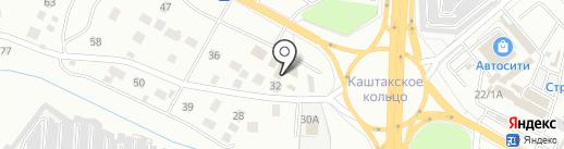 Кольцевая 32 на карте Читы