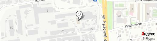 ЭМИН на карте Читы