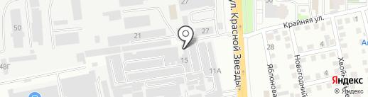 Финиш Лайн на карте Читы