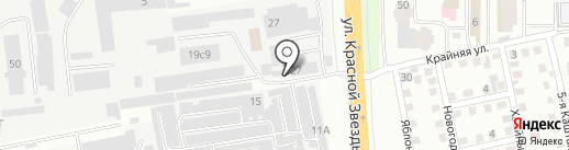 Сибтрейдсервис на карте Читы