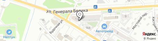 ВИКТОР на карте Читы
