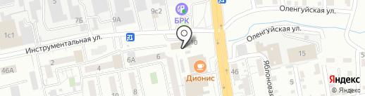 ТАЙЕР ПЛЮС на карте Читы