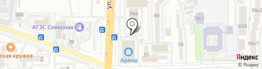 Центр Государственной инспекции по маломерным судам МЧС России по Забайкальскому Краю на карте Читы