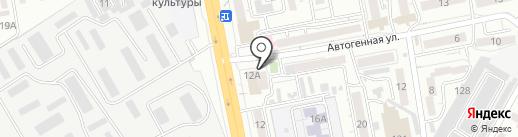 Кондитерская Марины Пряженниковой на карте Читы
