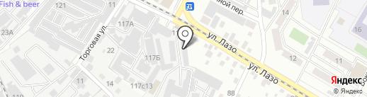 Коноровский на карте Читы