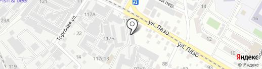 Маруся на карте Читы
