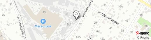 Лавина на карте Читы