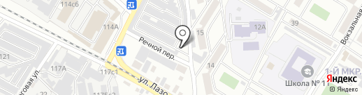 Потребительский гаражно-строительный кооператив №36 на карте Читы