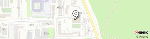 АВТОПАРК НОРД на карте Читы
