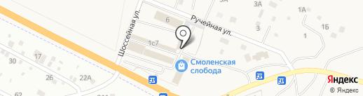 В Моторс на карте Смоленки