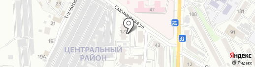 Специализированный дом ветеранов войны и труда Забайкальского края на карте Читы