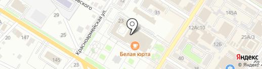 Государственный архив документов по личному составу Забайкальского края, ГКУ на карте Читы