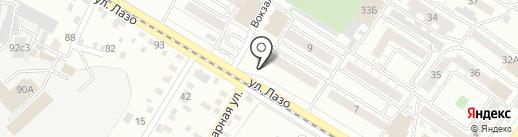 Булгакова Е.Г. на карте Читы