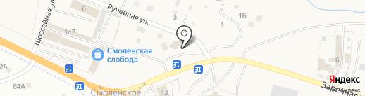 В Мелене на карте Смоленки