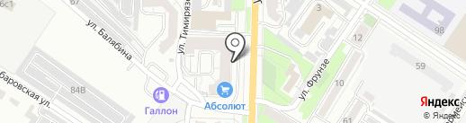 Нотариус Макарьевская Л.С. на карте Читы