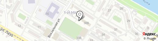 Титовский на карте Читы