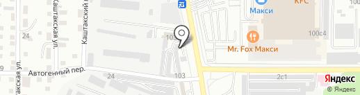 Tokio на карте Читы