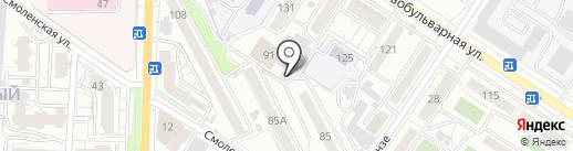 СДЮСШОР по боксу Забайкальского края на карте Читы