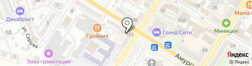 Хай Ха на карте Читы