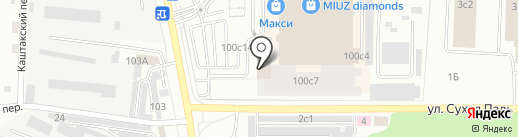 ТНТ-Чита на карте Читы