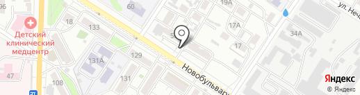ХОСКА, ПАО на карте Читы