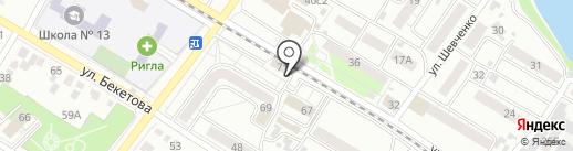 Auto_All на карте Читы