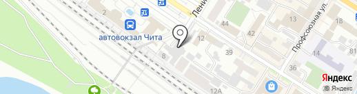 Почтовое отделение №24 на карте Читы
