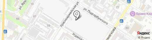 Электрострой на карте Читы
