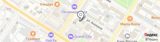 Нотариус Артемьева Н.В. на карте Читы