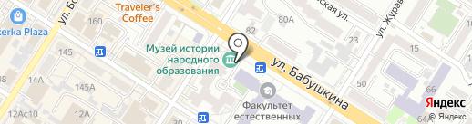 Энциклопедия Забайкалья на карте Читы