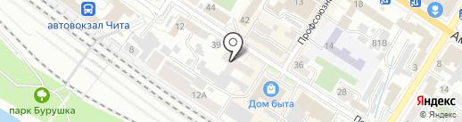 Левша на карте Читы