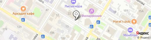 Совкомбанк, ПАО на карте Читы