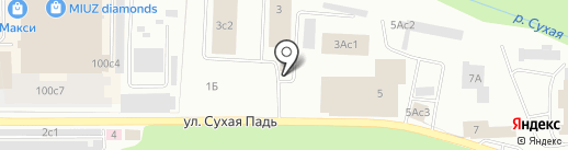 Забайкальский Транзит на карте Читы