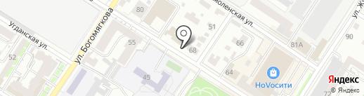 ЧитаСервисЛада на карте Читы