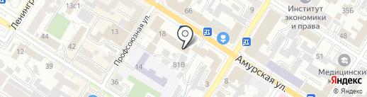 Юридическая компания на карте Читы