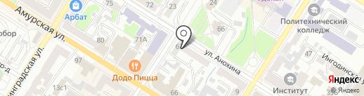 Единая Россия на карте Читы