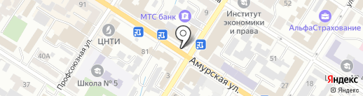 Читинский центр бесплатных юридических консультаций на карте Читы