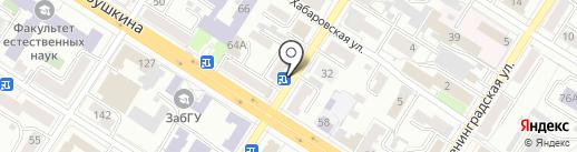 Аптека.ру на карте Читы