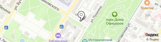 Нотариус Макаренко Н.Г. на карте Читы