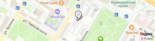 Байкал Плюс на карте Читы